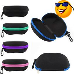 Sunglasses Case Box Eye Glasses Portable Clam Shell Protecto
