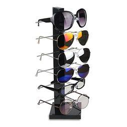 Fashion Design 6 Pair Sunglasses Eye Glasses Frame Rack Eyew