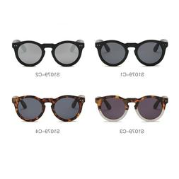 Unisex Men's Women's Round Cat Eye Sunglasses Driving Outdoo
