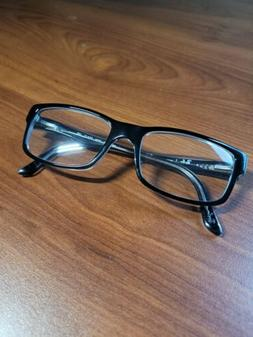 Unisex RAY BAN black/transparent reading glasses Used