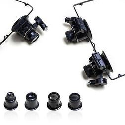 Useful New Magnifier Eye Glasses Loupe Lens Set Tool For Wat