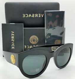 Versace VE4353 GB1/87 BLACK GREY 51 mm Women's Sunglasses