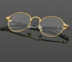 Vintage 60's Oval Eyeglass frames Women Men Glasses Eyewear