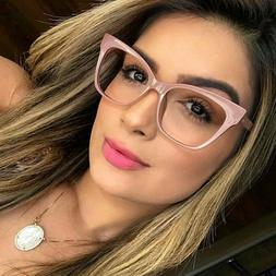 Vintage Cat Eye Eyeglasses Frames Women Spectacles Optical F