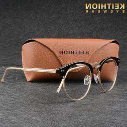 Vintage Men Womens Eyeglass Frame Glasses Retro Spectacles C