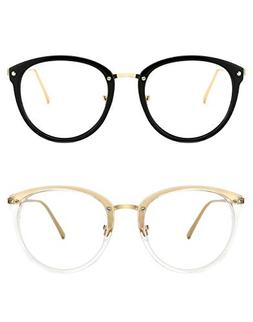 74017d2061 TIJN Vintage Optical Eyewear Non-prescription Eyeglasses Frame with
