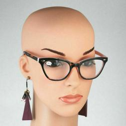 AMILLET Vintage Reading Glasses Cat Eye Readers Womens +1.0
