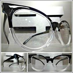 VINTAGE RETRO CAT EYE Style READING EYE GLASSES READERS Blac