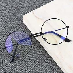 Vintage Round Metal Frame Personality College Style <font><b