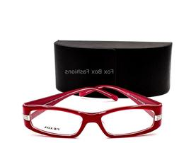 Prada VPR 12H 7O0-1O1 Eyeglasses Glasses Dark Pink w/ Crysta
