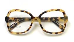 Prada VPR 25S 7S0-1O1 Eyeglasses Frames Glasses Yellow & Bro
