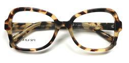 Prada VPR 25S 7S0-1O1 Eyeglasses Frames Glasses Yellow Brown