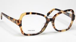 PRADA VPR 25S F 7S0-1O1 Eyeglasses Glasses Yellow Spotted Ha