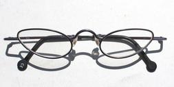 Vtg 1998 L.A. Eyeworks Retro Eyeglasses - Purple Twit 415 Ca
