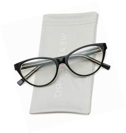 WearMe Pro - Clear Lens Cat Eye Glasses for Women