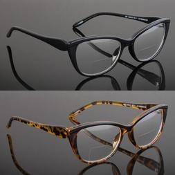 Women Cat Eye Reading Glasses Bella Vintage Style Metal Hing