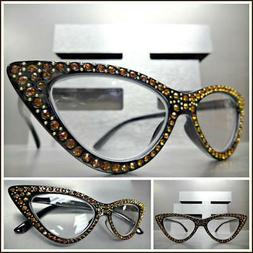 Women Classy Elegant Retro CAT EYE READING EYE GLASSES READE