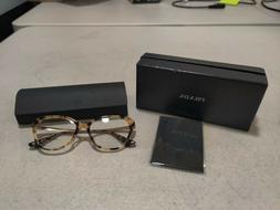 Prada Women's Brown Gold Havana Eye Glasses - VPR 28S-F 7S0-